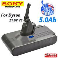5000mAh Battery V8 SV10 For Dyson Absolute Animal Fluffy Vacuum Cleaner Sony