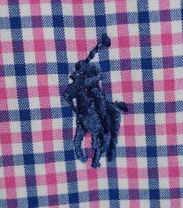 Men's Polo Ralph Lauren Plaid Long Sleeve Button Down Dress Shirt Size Medium M