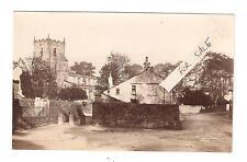 RP Giggleswick Postcard Embossed A Horner New Street Settle