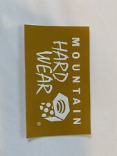 New mountain hardwear sticker gold. Approx 4.25�