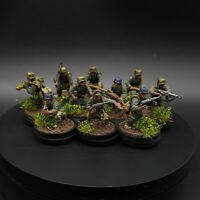 Painted 28mm Bolt Action German Grenadiers ×10 squad 1 (tabletop standard)