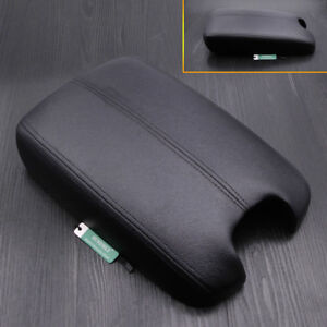 Black Leather Armrest Center Console Arm Rest Cover for Honda Accord 2008-2012