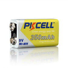 350mAh NiMH Rechargeable Battery 9V PP3 for Smoke Detector PKCELL Battery