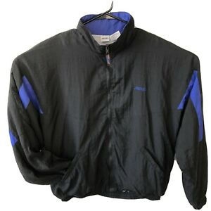 Vintage BROOKS Running Lightweight Nylon Windbreaker Jacket Men's Size Large EUC