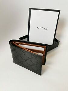 Gucci WalletSignature leather black tan