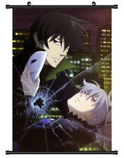 5267 Darker than Black Decor Poster Wall Scroll cosplay