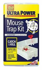The Big Cheese Ultra Power Mouse Trap Kit (Lockable, Baited, Protects Children--