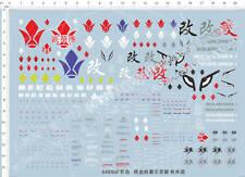 IRON-BLOODED ORPHANS Tekkadan Barbatos Gundam Model Kit Water Slide Decal 64899F