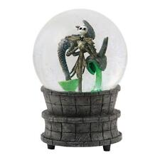 """The Nightmare Before Christmas Jack in the Fountain 6.25"""" Water Globe NEW BOXED"""