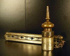 Antiguo Pen Case Russian tintero tintero russe XIX th Russia Rusia 30cm bronce