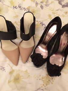 Truly Stunning High Heeled Shoes Size 7 - Two Pairs, Miss Selfridge & Monsoon
