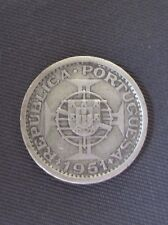 Saint Thomas & Prince - 5 Escudos 1951, Silver, KM#13 (3)