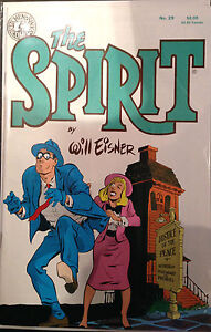 The Spirit #29 VF+/NM- 1st Print Free UK P&P Kitchen Sink Comics