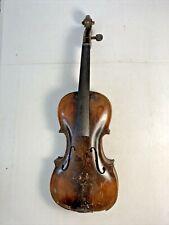 Joh. Bapt. Schweitzer 1817 Antique Finely Made Violin - Needs Restore #5