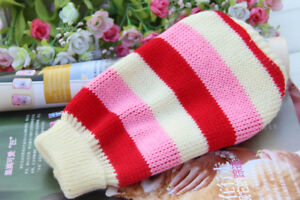 Dog Clothes Pet Winter Sweater Knitwear Puppy Cat jumper Apparel Knitted Coat