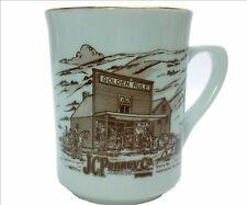 JC Penny Co THE MOTHER STORE Kemmerer, Wyoming Store #1 Porcelain Coffee Mug Cup