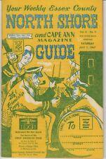 Massachusetts - North Shore and Cape Ann Magazine Guide - 7/1/67-Vol 6 No 5