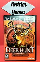 Cabelas Deer Hunt 2004 Season PS2 Video Games