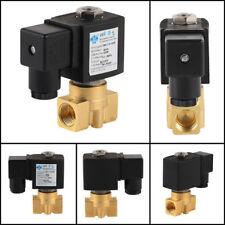 Elektro Magnetventil 3/8 Zoll Messing 230V 0-10bar NC Direkt Wirkenden IP65