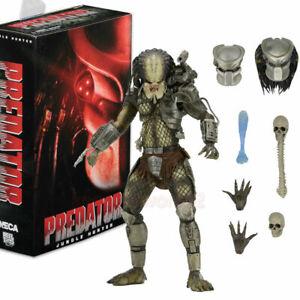 NECA Jungle Hunter Predator Ultimate 7'' Action Figure Deluxe Play Toy Model