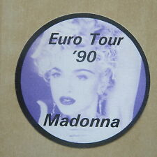 MADONNA Blond Ambition Euro Tour '90 Unused pass