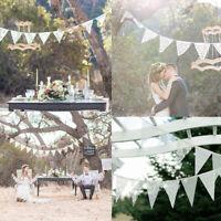 3,2 M 11Flags Spitze Wimpel Girlande Banner DIY Vintage Hochzeit Dekoration