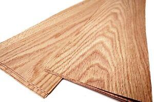 12x EURO EICHE echt Holz FURNIER Dekor Design Edelholz Möbel Parkett Tisch DIY