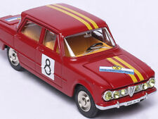 "ATLAS 1/43 DINKY TOYS 1401 ALFA ROMEO GIULIA 1600 TI-Decoration ""Rallye""  model"