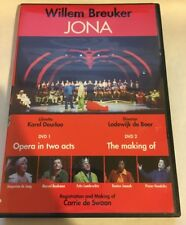 Jona De Neezegger Jonah Naysayer By Willem Breuker - 2 DVD - Ntsc Pal - *VG*