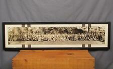 Vintage Antique Rajah Panoramic Group Photograph Shriners Reading,PA early 1900s