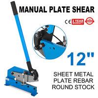 12'' Hand Shear Cutter Cutting Sheet Metal Steel Plastic Brass
