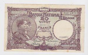 Belgium - 20 Francs 1944