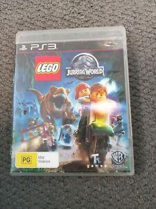 PS3 Playstation Game - LEGO JURASSIC WORLD - No Manual