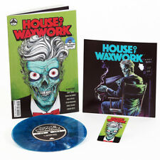 House Of Waxwork Issue 1 Comic & Vinyl Lighthouse Keeper Blue Vinyl New & Sealed