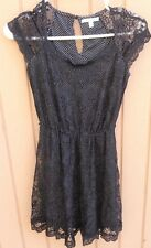 CHORD POLKA DOT LACE DRESS SIZE XS