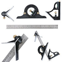 "12""Combination Measuring Angle Tool Ruler Tri- Square Ruler Steel Machinist 30cm"