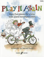Play it Again (Easy fun pieces for Viola with Piano accompaniment) NEW BOOK