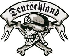 Aufkleber Deutschland Totenkopf Landser Autoaufkleber Sticker