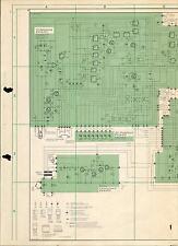 Metz Service Schaltplan für TX 4963