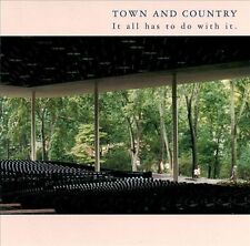 Town and Country - It All Has to Do with It CD 2002 Thrill Jockey MINT Cheap!
