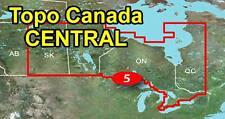 Garmin TOPO Canada v4 CENTRAL - Ontario, Manitoba, SK