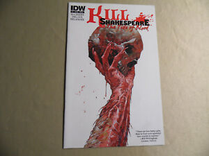 Kill Shakespeare The Tide of Blood #1 Cover A (IDW 2013) Free Domestic Shipping