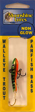 "MOONSHINE LURES METALLIC SHIVER MINNOW SIZE #1 2-1/4"" 3/8 oz  - GOLDEN PERCH"