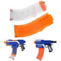 Orange /Clear 15 Darts Magazine Clip System for N-strike Elite Toy Gun B7