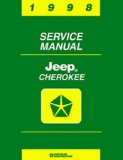 1998 Jeep Cherokee Shop Service Repair Manual Engine Drivetrain Electrical Book