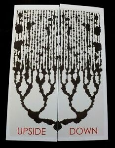 PETER RANDALL-PAGE Upside down  2014 PROMOTIONAL ART EXHIBITION CARD