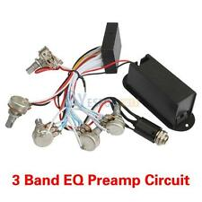 3 Band EQ Preamp Circuit For Bass Pickup Active 1 Set 3 Band EQ Preamp Circuit