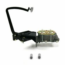 35-40 Ford OEM X Manual Brake Pedal kit Drum/DrumLg Oval Chr Pad
