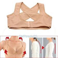 Women's Chest Brace Adjustable Shoulder Back Posture Support Belt Corrector Vest