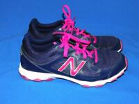 New Balance 520 Size 9 B Blue Purple Sneakers Classic Running Shoes Leather Mesh